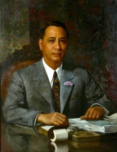 Manuel Acuña Roxas official painting
