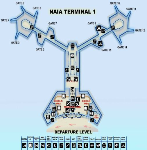 Click to enlarge NAIA-1 Departure map a in new tab