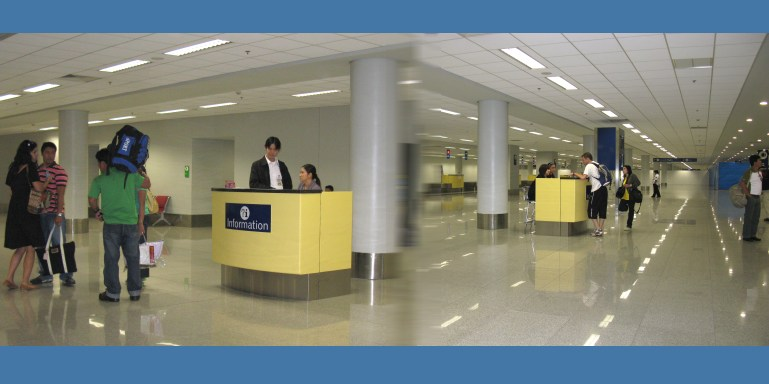 Airline Passenger Transfer Desk