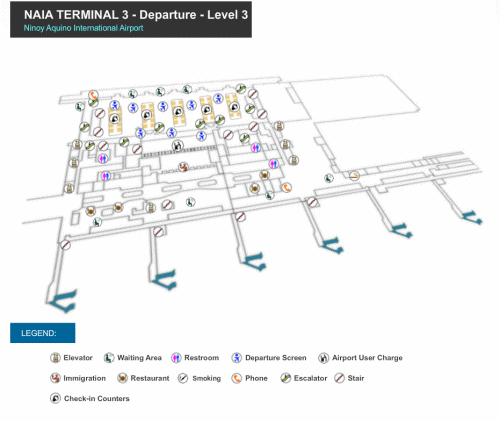 Click to enlarge NAIA-3 Level-3 map in new tab