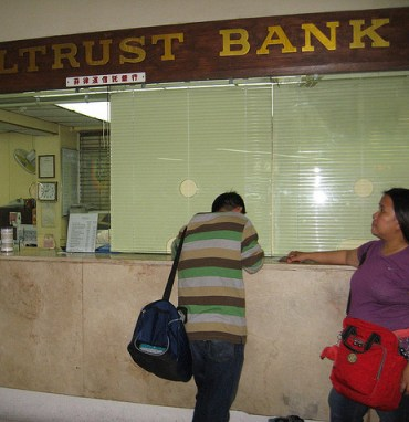 Bank office in NAIA-1