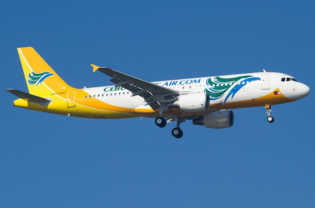 Cebu Pacific Air Airbus A320
