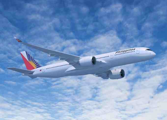 Philippine Airlines future Airbus A350