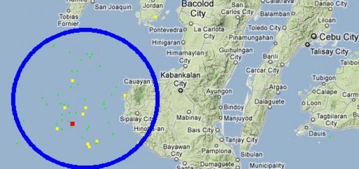 Earthquakes 2011 Negros Occidental