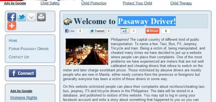 Pasaway Drivers