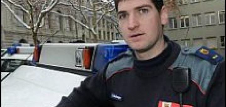 Tomas Kellenberger policeman