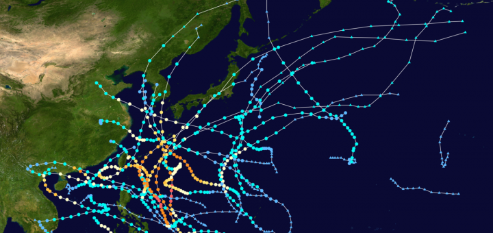 2012 Northwest Pacific Typhoon Season (click to enlarge)