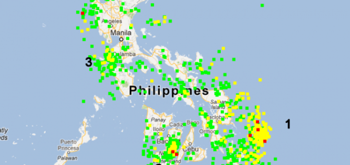 Philippines Earthquakes 2012