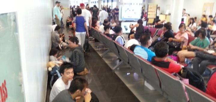 Overcrowded NAIA Terminal 3