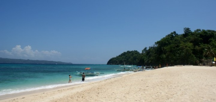 Puka Shell Beach in Boracay