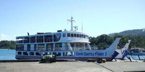 Super Shuttle Ferry 1 in the port of Benoni, Camiguin