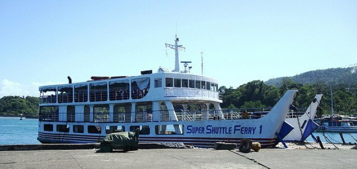 Super Shuttle Ferry 1 in the port of Benoni, Camiguin