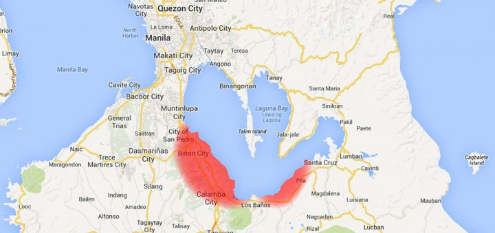 Laguna under state of calamity (click to enlarge)