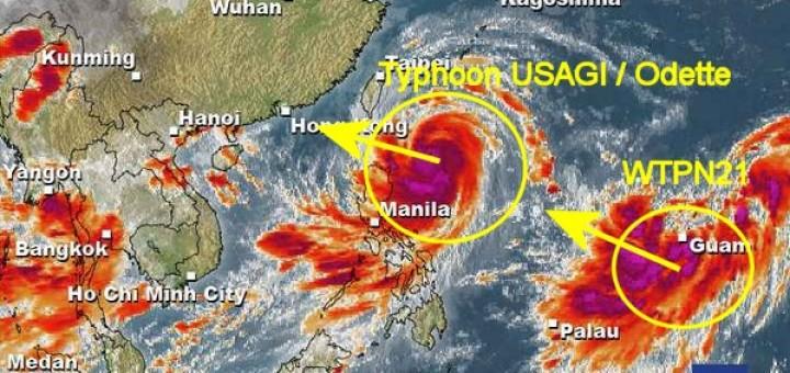 Super Typhoon USAGI / Odette + WTPN21