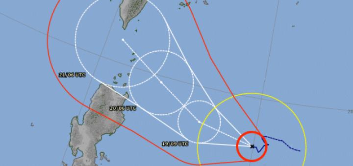 Tropical Storm USAGI / Odette 2013-09-18 at 04:00 p.m. PST