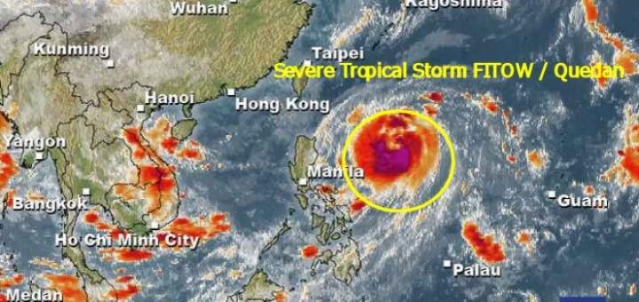 Severe Tropical Storm FITOW / Quedan