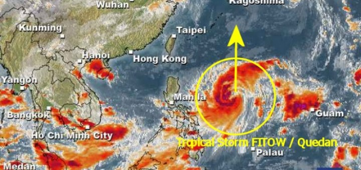 Tropical Storm FITOW / Quedan 2013-10-01