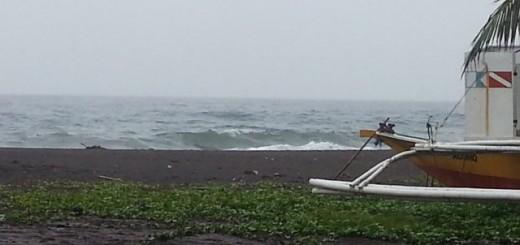 Agoho Beach: Weather 2014-01-19