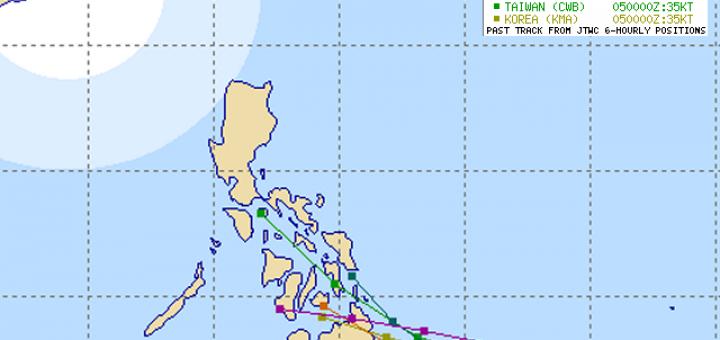 Tropical Storm PEIPAH (05W) 2014-04-05