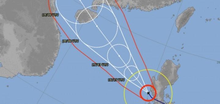 Typhoon RAMMASUN/Glenda