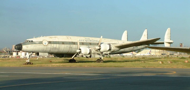 Lockheed C-121J Super Constellation