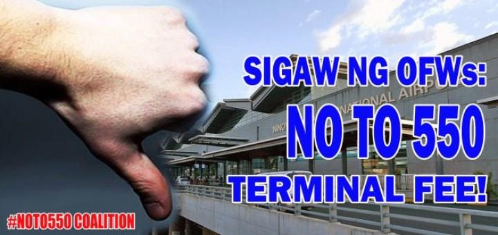 No to Terminal Fee