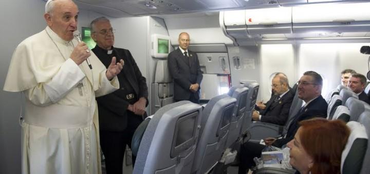 Pope's plane