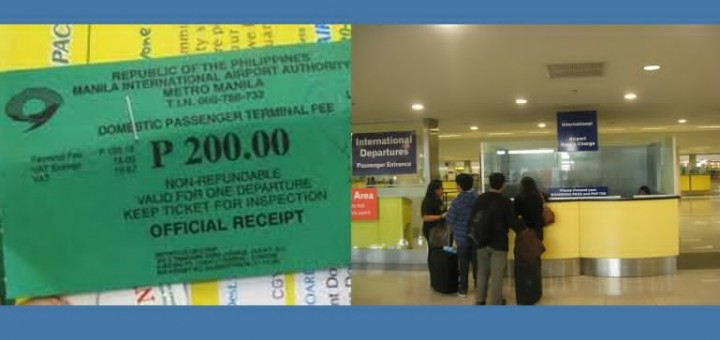 No more NAIA Terminal Fee