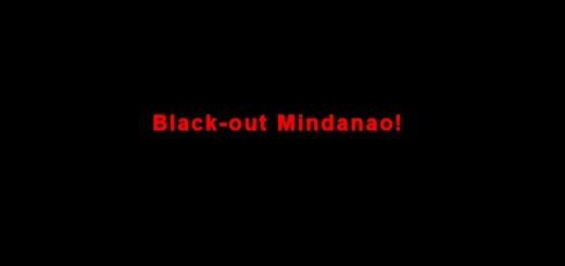 Black-out Mindanao