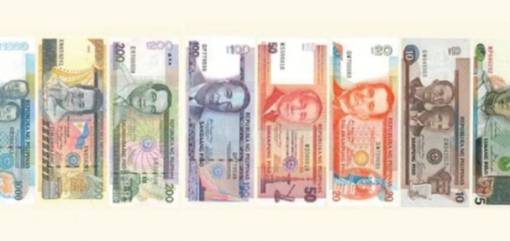 Old Philippine Peso Banknotes