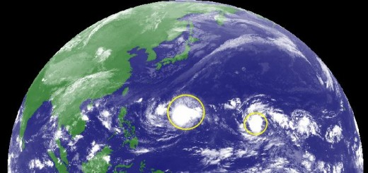 Two Tropical Depressions
