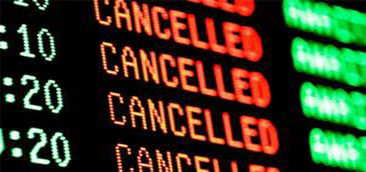 Cancelled Flights because of APEC 2015