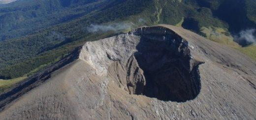 Kanlaon Volcano Crater