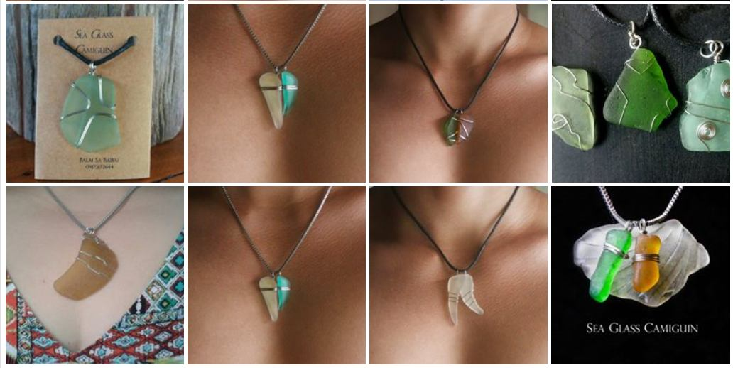 Seaglass from Camiguin