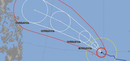 Haima/Lawin - Two typhoons