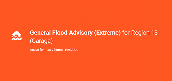 PAGASA Flood Advisory