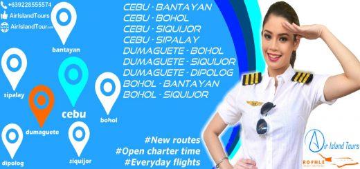 Air Island Tours: Flights to Bantayan