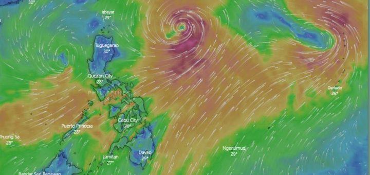 Roaring Habagat - Windy snapshot