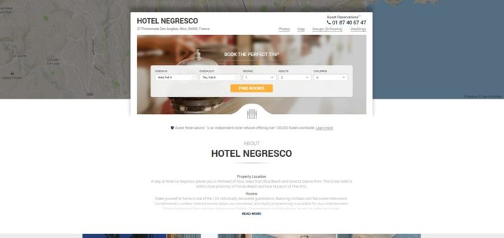 Hotel Booking Scam - guestreservations.com