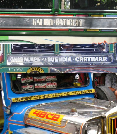 Jeepney routes are difficult to understand.