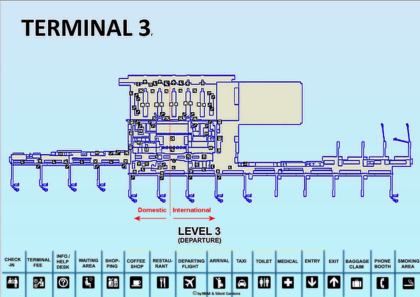 Click To Enlarge Naia 3 Departure Map A In New Tab