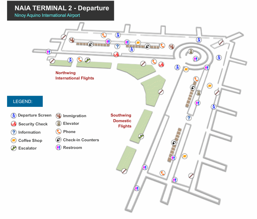 naia terminal 1 arrival map Manila Airport Maps naia terminal 1 arrival map