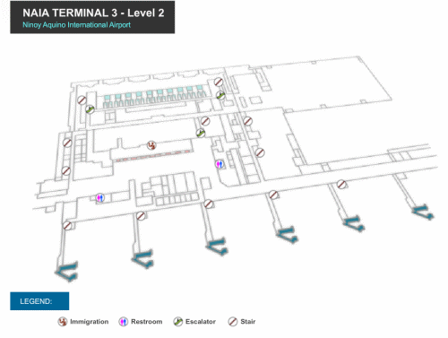 Click to enlarge NAIA-3 Level-2 map in new tab