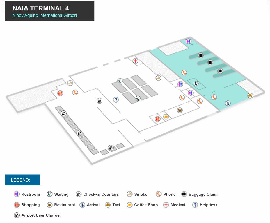 Manila Airport Maps
