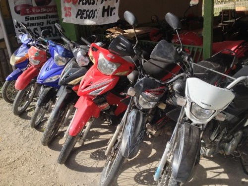 Motorbike rental Philippines