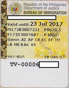 6 months visa extension sticker