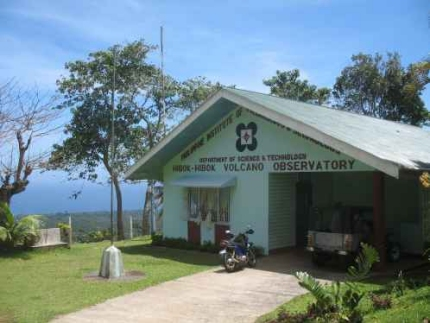 The old PHIVOLCS observatory near Hibok-Hibok volcano