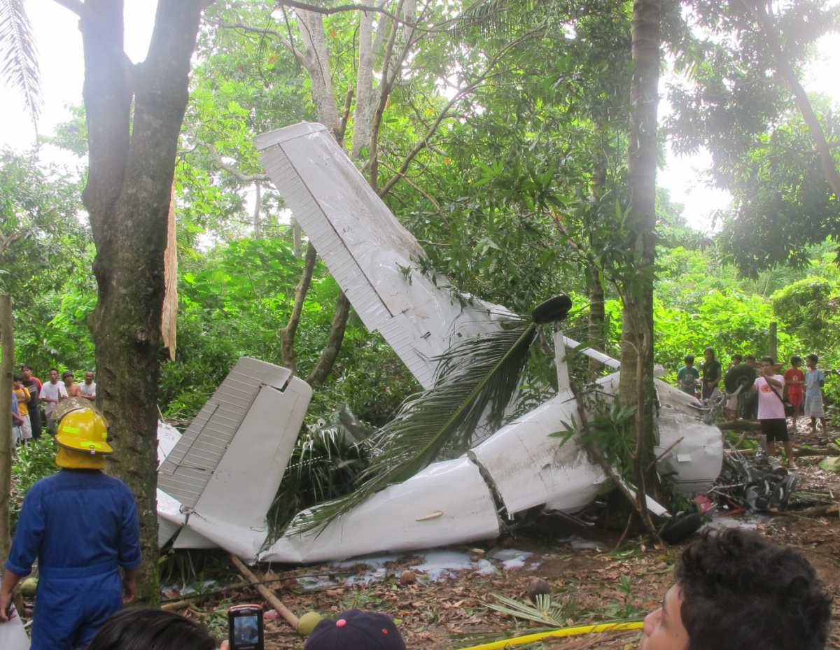 Plane Crash in Camiguin 2012