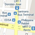 Find your bus terminal in Manila.